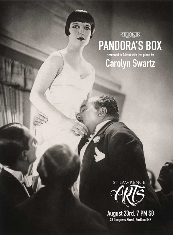 Poster for Georg Wilhelm Pabst's Pandora's Box