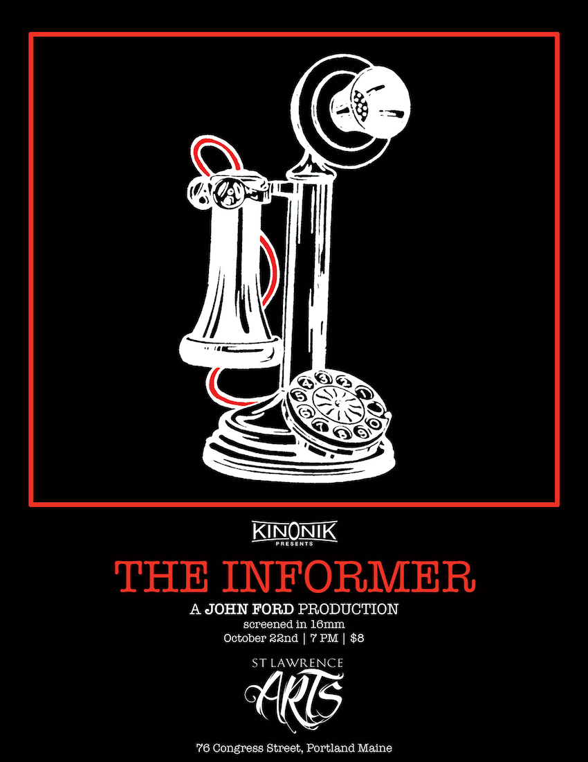 Poster for John Ford's The Informer