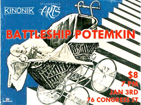 Poster of Sergei Eisenstein's Battleship Potemkin