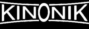 Kinonik white logo
