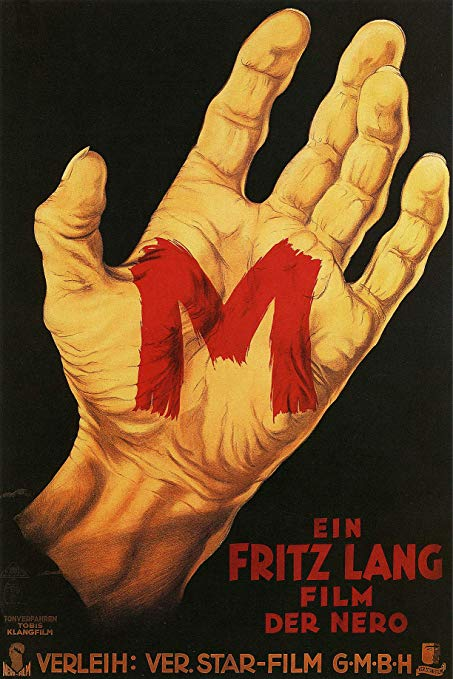 Fritz Lang's M movie poster