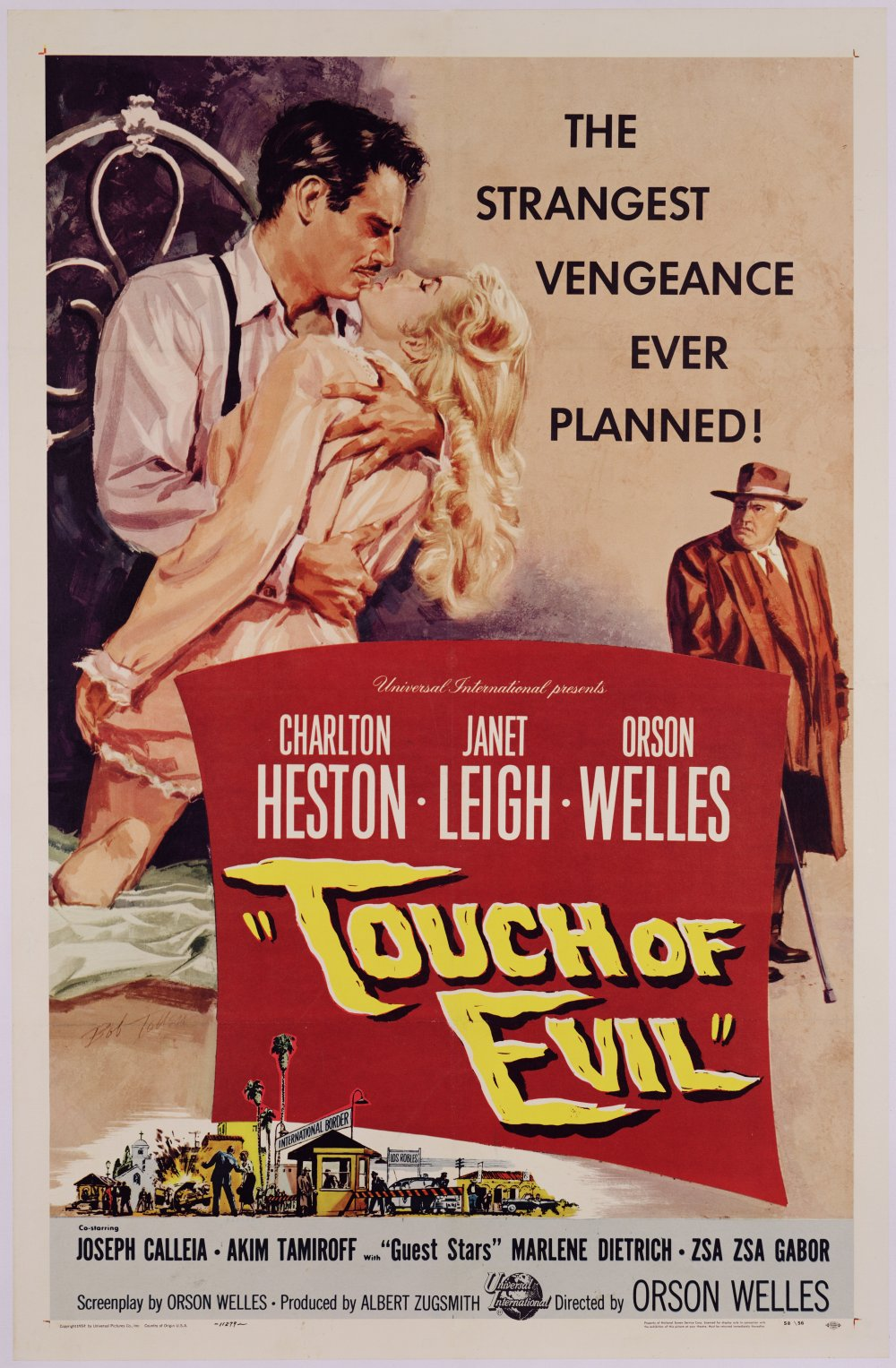 Orson Welles' Touch of Evil 1958